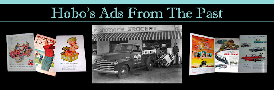 Magazine Ads for Sale - Hobo's Ads From The Past